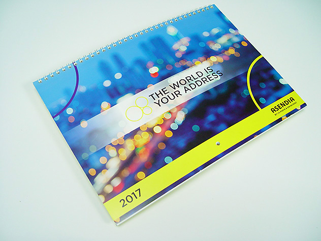 Calendario tamaño A4
